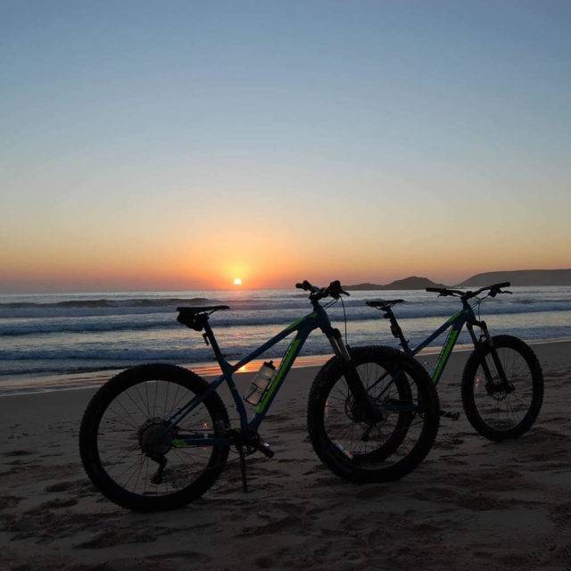 Sunrise with the Bikes